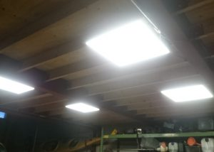 LED verlichting, vervangen, autobedrijf,